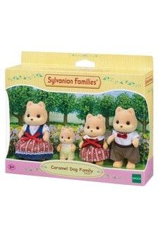 Sylvanian Families Caramel Dog Family Figures