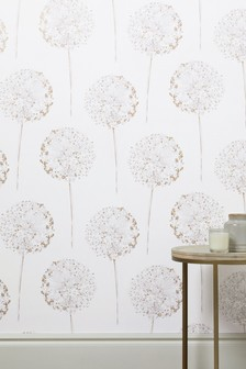 Paste The Wall Allium Floral Wallpaper