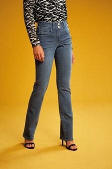 Smokey Blue Lift, Slim And Shape Boot Cut Jeans