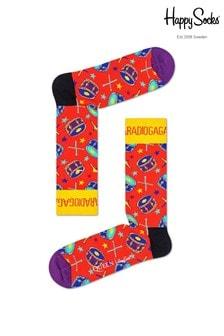 Happy Socks Queen Radio Ga Ga Socks