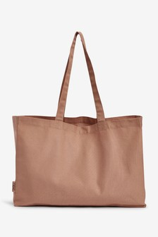 Dusky Pink Cotton Bag For Life