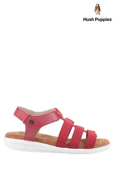 Hush Puppies Red Hailey Gladiator Sandals