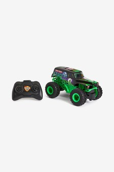 Monster Jam Remote Control Car 1/24th Scale. Grave Digger