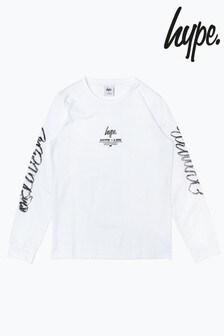 Hype. Graffiti Sleeve Print T-Shirt