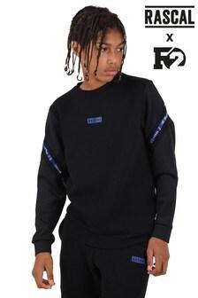 Rascal Black Volta Crew Sweatshirt