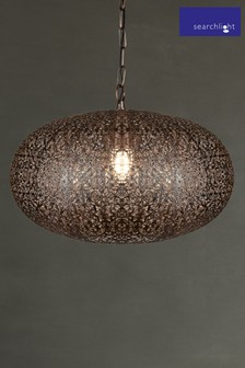 Jona 1 Light Pendant by Searchlight