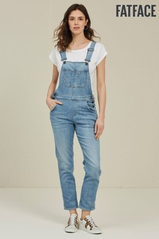 FatFace Blue Lewes Dungarees