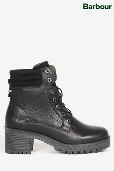 Barbour® Leather Stark Heeled Hiker Boots