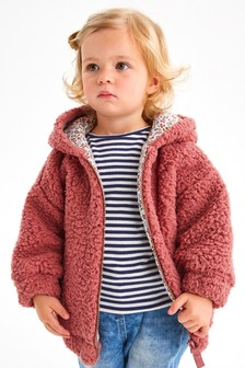 Pink Fleece Hoody (3mths-7yrs)