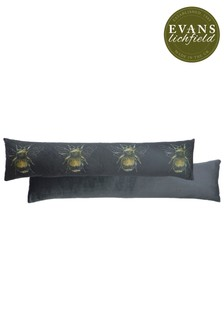Evans Lichfield Gold Bee Draught Excluder