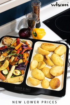 Large Dual Roasting And Baking Tray by Wham