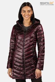 Regatta Purple Andel II Longline Baffle Jacket