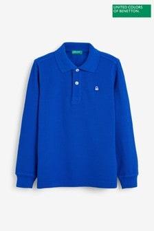 Benetton Long Sleeve Polo