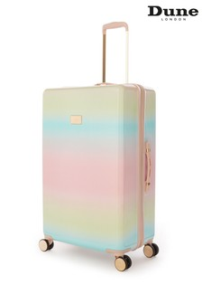 Dune London Olive Large Suitcase