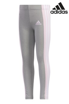adidas Little Kids 3 Stripe Leggings