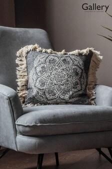 Gallery Direct Barranco Medallion Fringed Cushion