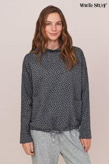 White Stuff Grey Tie Hem Sweater