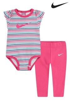Nike Baby Bodysuit And Legging Set