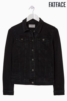 FatFace Black Tasha Denim Jacket