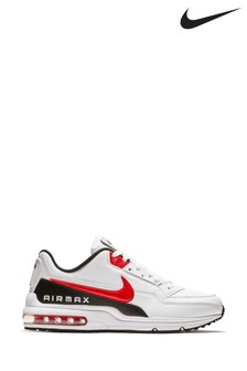 Nike White/Black Air Max LTD Trainers