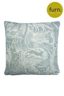 Woodland Scandi Cushion by Furn