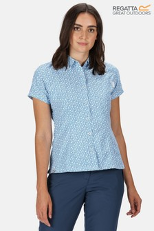Regatta Women's Mindano V Short Sleeve Shirt