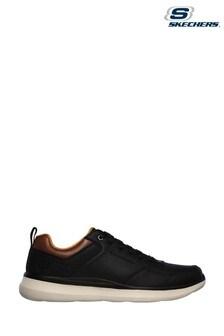 Skechers® Black Delson 2.0 Planton Trainers