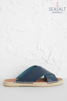 Seasalt Navy Little Porth Espadrilles
