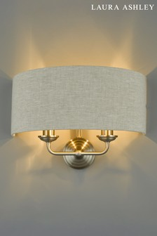 Laura Ashley Sorrento 2 Light Wall Light Shade