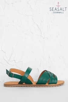 Seasalt Green Chapel Down Sandals