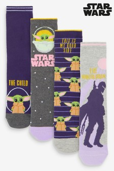 Mandalorian Ankle Socks 4 Pack