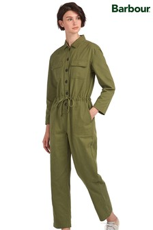 Barbour® Heritage Sage Twill Mirabell Jumpsuit