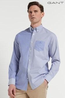 GANT Regular Mixed Panel Shirt