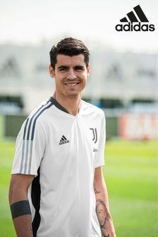 adidas White Juventus Training T-Shirt
