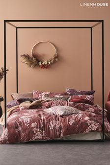 Taira Floral Duvet Cover and Pillowcase Set by Linen House
