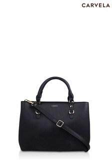 Carvela Black Mini Harlow Tote Bag