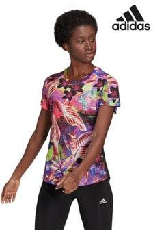 adidas Run Floral T-Shirt