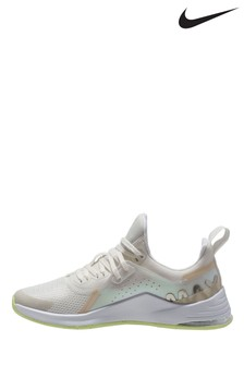 Nike White/Lilac Air Bella 3 Trainers