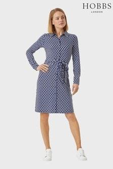 Hobbs Blue Sandrine Dress