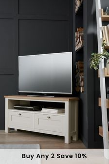 Classic Cream Malvern Corner TV Stand
