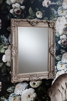 Stretton Carved Baroque Style Mirror by Gallery Direct