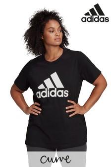 adidas Curve Badge Of Sport Cotton T-Shirt