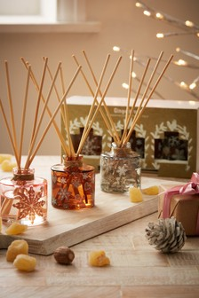 Set of 3 Gingerbread Fragranced 40ml Diffusers