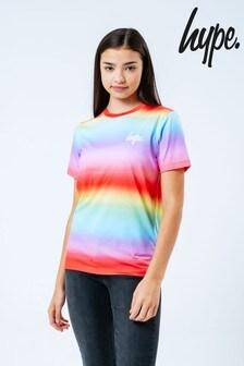 Hype. Rainbow Fade T-Shirt