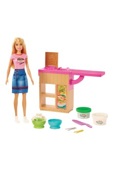 Barbie Noodle Bar Playset with Blonde Doll