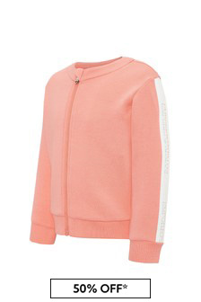 Emporio Armani Baby Girls Pink Sweat Top