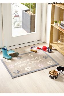 Howler & Scratch Wipe Your Paws Doormat