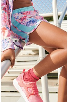 Multi Palm Print Sport Shorts (3-16yrs)