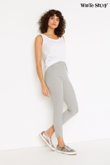 White Stuff Grey/Jade Jeggings