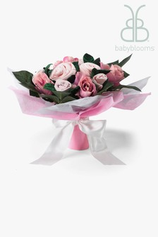 Babyblooms Pink New Baby Clothes Bouquet Gift